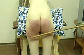 amateur wife caned very hard without mercy...