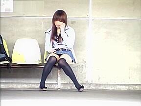 Yuzuki hatano nice teen short skirt is an...