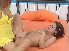 Incredible sex scene lesbian hot show...