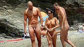 Fast beach babes...