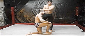 Studs wrestling...