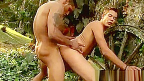 Hunks out sun for crazy wild outdoor sex...