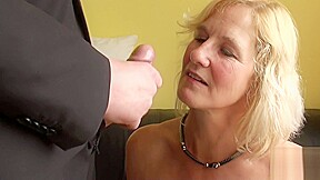 Squirting brit granny throatfucked...
