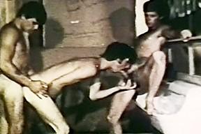 VintageGayLoops Video: Straight Throat