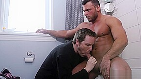Big dick with facial...