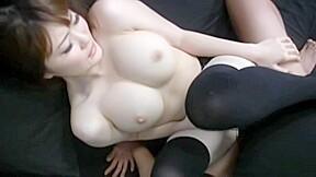 Momoka nishina has super size breasts...