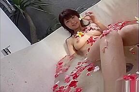 Budding swimsuit model...