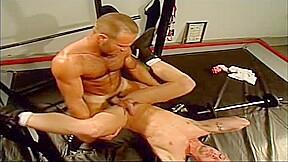 Wrestling group sex...