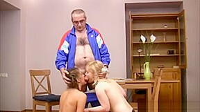 Students pass the test at the gym teacher-