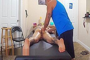 Michael hoffman gets a nude rub down massage...