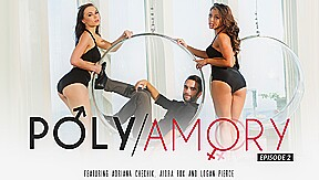 Aidra fox logan pierce in polyamory episode 2...