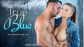 Marina Visconti & Danny Mountain In True Blue Video