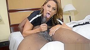 Maria jade sexy slim interracial pawg...