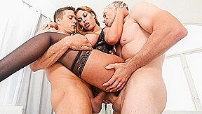 Bridgette B & Mick Blue & Ramon Nomar in Big-Boob Bridgette's Anal/DP Threesome - EvilAngel