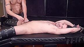 Tickling handjob post orgasm torture 6...