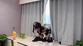 Cool chinese bondage...