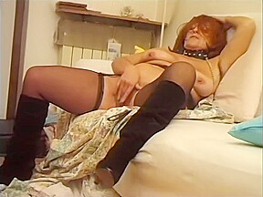 You cant miss the of this redhead milf...
