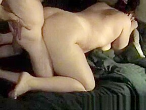 Chubby babe shakes her booty and gets anal...