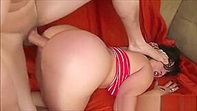 Latina gets her ass destroyed by joker...