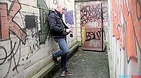 Random in a dirty alley...