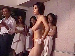 Asian nude contest...
