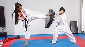 Kira noir in fighting foot domination brazzers...