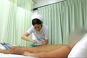 Handjob patient his wife suddenly coming censored...