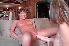 Slutty milf enjoys babe...
