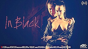 In Black - Emylia Argan & Lexi Layo - SexArt
