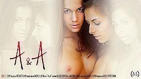 A&A - Alexis Crystal & Antonia Sainz - SexArt