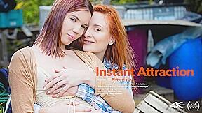 Instant Attraction Episode 2 - Picturesque - Eva Berger & Lovenia Lux - VivThomas