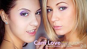Cam Love Episode 4 - Sensation - Carolina Abril & Tracy Lindsay - VivThomas