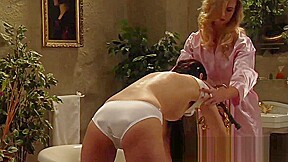 Lesbian Mistress Uses Strapon For Pleasure And Punishment-