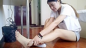 Foot sprain and torture...