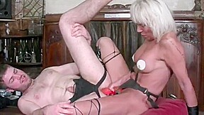 French Mature Pegs A Boy