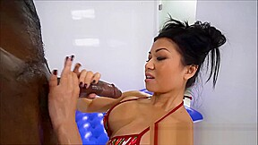 Firm tits asian mom gets fucking prick in...