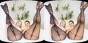 CzechVRFetish 053 Pantyhose lesbians