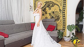 In My Wedding Dress And Some Surprise Under - KaterinaHartlova