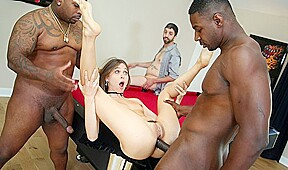 Healthy Blacks Fucked Young Bitch With Her Husband