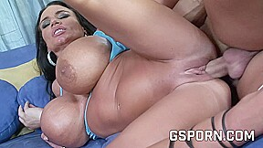 Hot busty XXXL hard core porn video