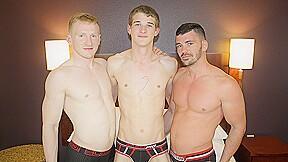 Spencer, Brogan & Trevor BAREBACK in Dallas - JasonSparksLive