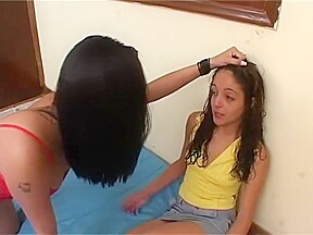Young and very hot brazillian girl asslicking