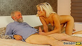 DADDY4K. Alluring lassie Ria Sun celebrates her birthday with old man