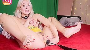 Horny blonde sister...