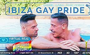 Gabriel lunna marc ferrer in ibiza gay pride...