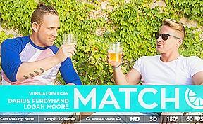 In match...