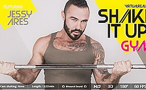 Jessy ares in shake it up gym sexlikereal...