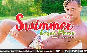 Logan moore in swimmer sexlikereal gay...