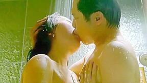 Sensual shower sex scene in The Public (2018) Korean Erotic Movie 18