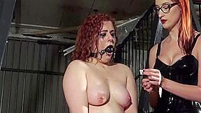 Extreme lesbian torture...